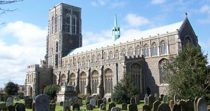 St Edmund's Church, Southwold, Suffolk by Trish Steel, Wikimedia Commons