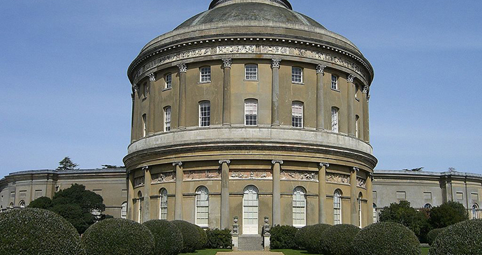 Ickworth House in Suffolk by PJ Marriot, Wikimedia Commons