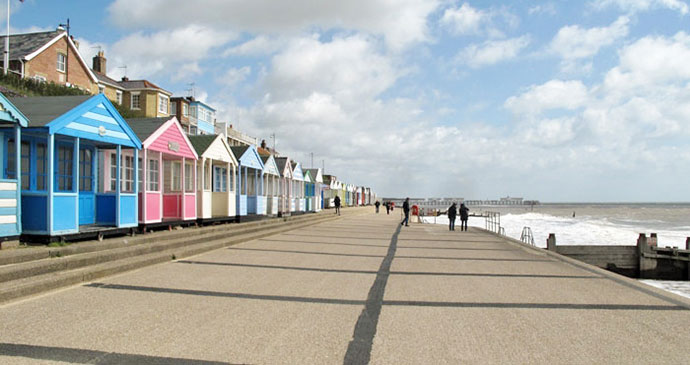 Southwold Beach Suffolk UK by James Avis, Shutterstock