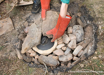Outdoor cookery Wild times by Rosie Hazelton/Wild Rose Escapes
