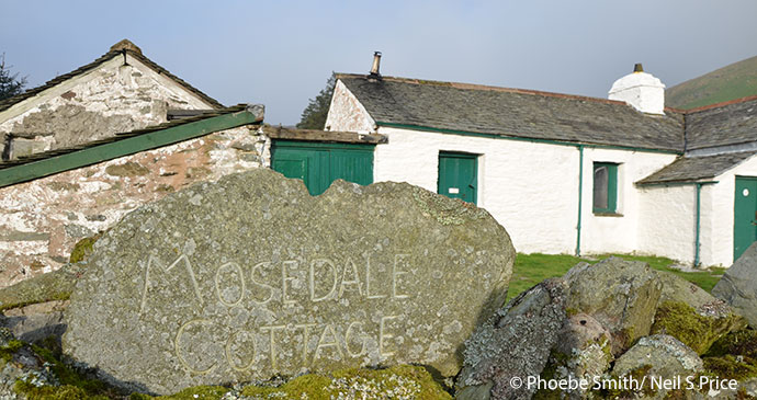 Mosedale Cottage Lake District by Phoebe Smith
