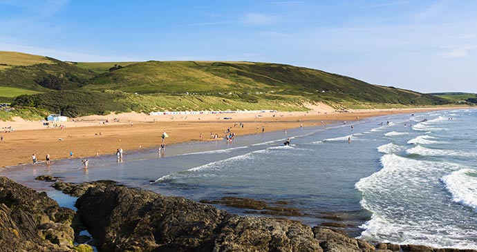 Woolacombe North Devon England UK by ian woolcock Shutterstock