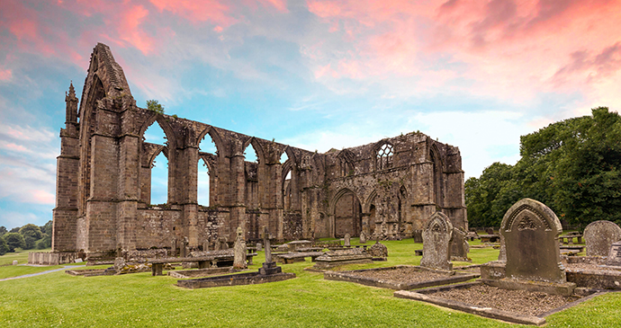 Bolton abbey Wharfedale Yorkshire Dales by Anneka Shutterstock