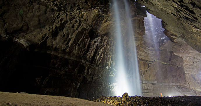 Gaping Gill Yorkshire Dales by Craven Pothole Club