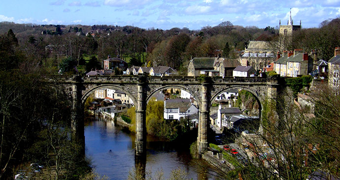 River Nidd, Knaresborough, Yorkshire Dales R/DV/RS/Flickr