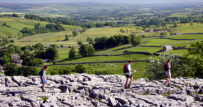 Limestone pavement Malham Cove Yorkshire Dales by Welcome to Yorkshire