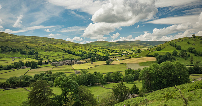 Muker Yorkshire Dales by Yorkshire Dales National Park Authority