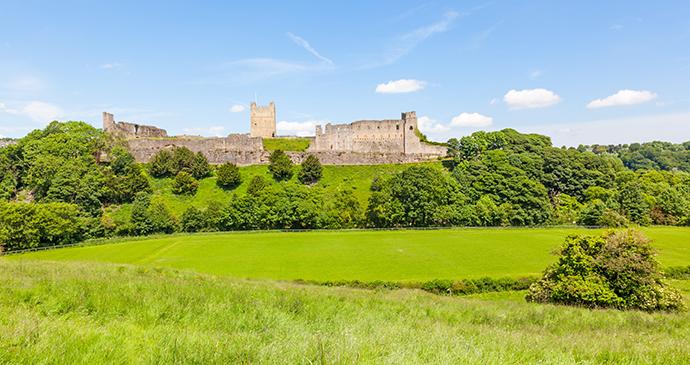 Richmond Castle Richmond Yorkshire Dales by David Steele Shutterstock