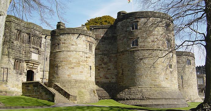 Skipton Castle Skipton Yorkshire Dales by Skipton Castle