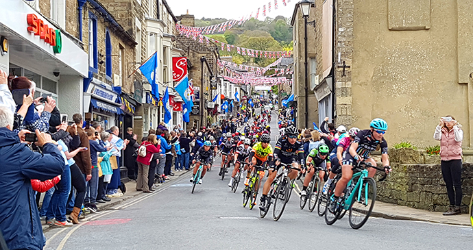 Tour de Yorkshire Pateley Bridge Yorkshire Dales by Nidderdale Chamber of Trade/Kirsty Shepherd