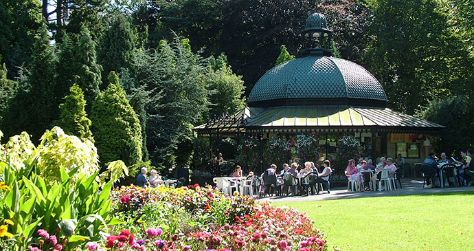 Harrogate Valley Gardens Yorkshire Dales England by Welcome to Yorkshire