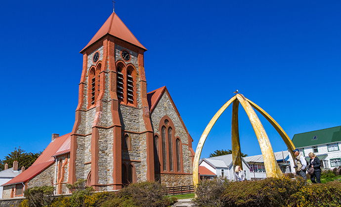Christ Church Cathedral, Stanley, Falkland Islands by Piotr Andryszczak, Shutterstock
