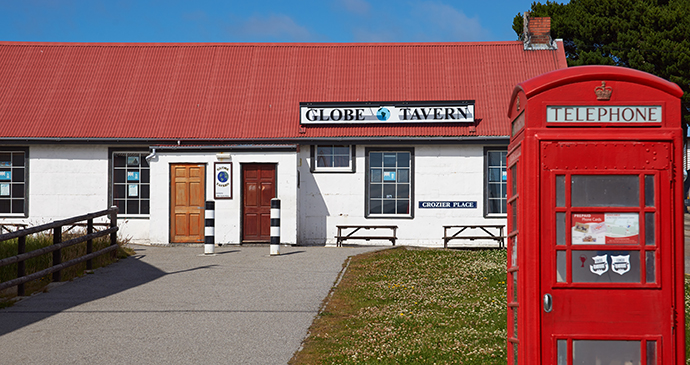 Globe Tavern, Stanley, Falkland Islands by JeremyRichards, Shutterstock