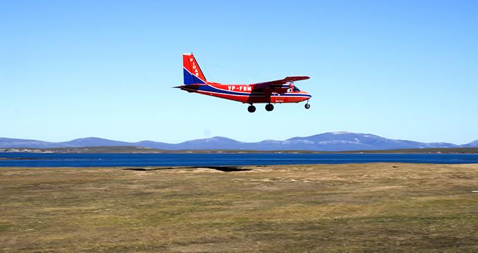plane, Falkland Islands by Vladislav T Jirousek, Shutterstock