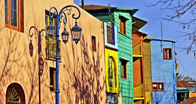 Caminito, La Boca, Argentina by Luis Argerich, Wikipedia