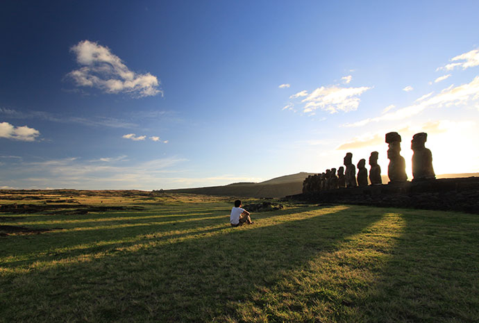 Easter Island Chile by Shuo Huang