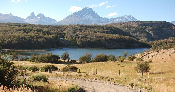 Peaks, Cerro Castillo, Carretera Austral, Chile by Hugh Sinclair