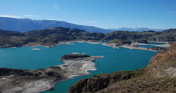 Lago General Carrera Carretera Austral Chile by Hugh Sinclar