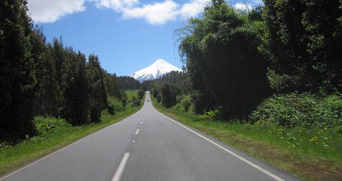 Volcan Osorno, Carretera Austral, Chile by Hugh Sinclair