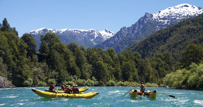 Rafting Futaleufu Carretera Austral Chile by Zachary Collier