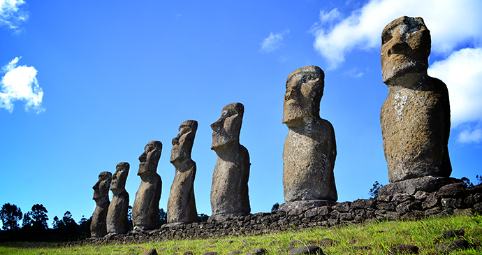 Easter Island Chile by Jantoniov Wikimedia Commons