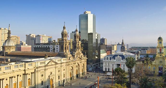Plaza de Armas Santiago Chile by Israel Hervas Bengochea Shutterstock