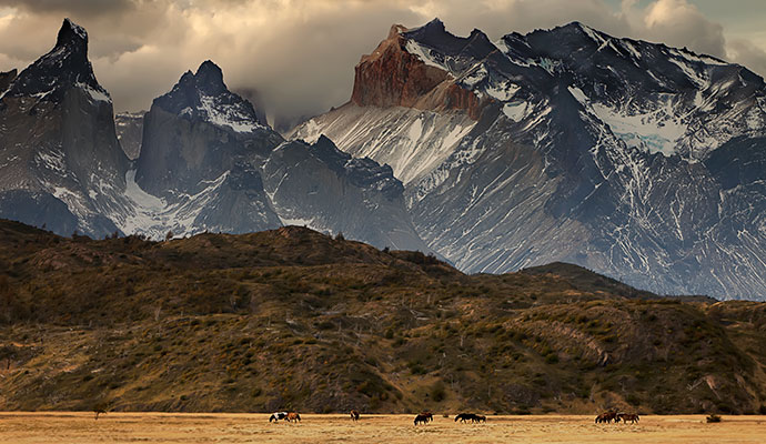 Torres del Paine National Park Chile by Jeremy Thompson