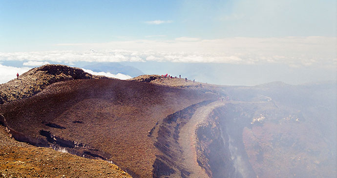 Volcan Villarrica Chile by Hugoht Dreamstime