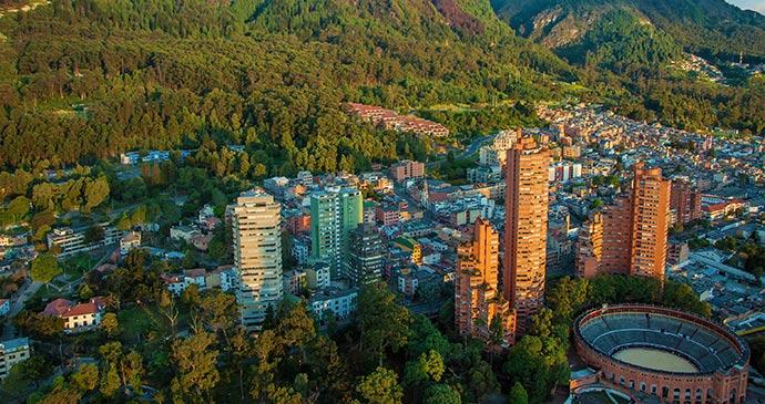 Bogota Colombia by Jess Kraft, Shutterstock