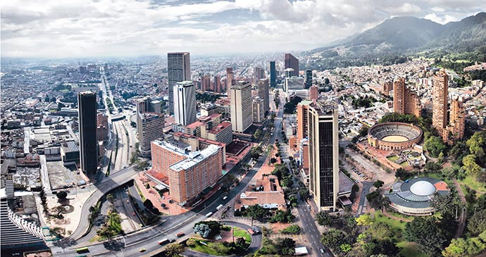 Bogota Colombia by Colombian Tourist Office