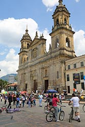 Catedral Primada Bogota Colombia by Johnny Lawlor, Colombian Tourist Office