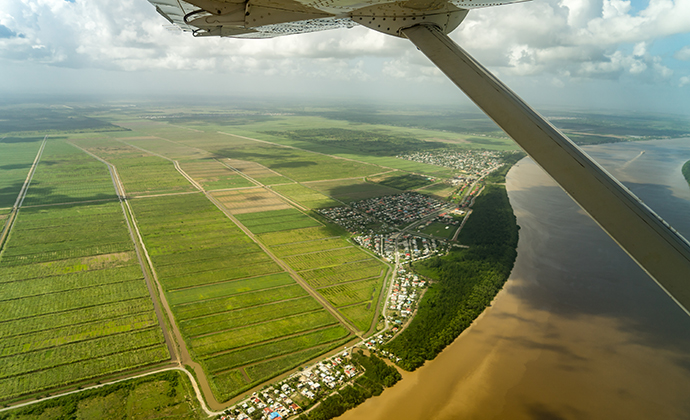 Georgetown views Guyana by Gail Johnson, Shutterstock