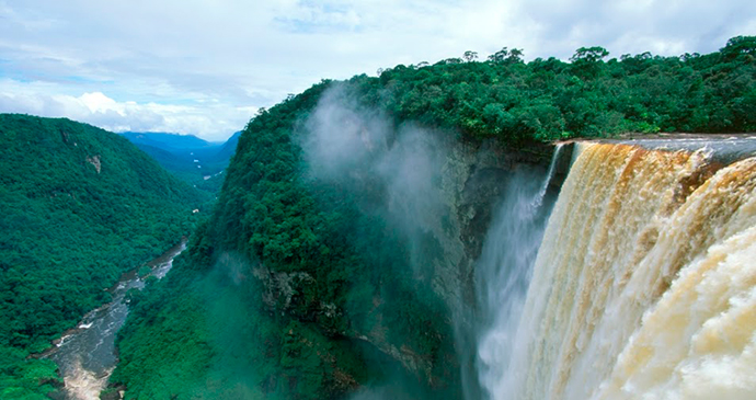 Kaieteur Falls Guyana by Wilderness Explorers