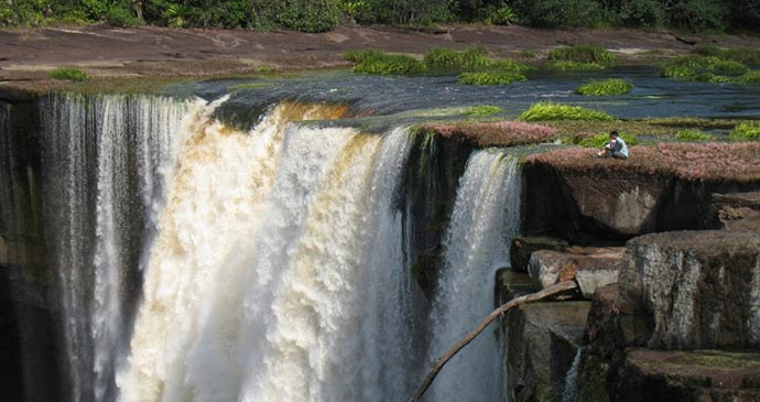 Kaieteur Falls Guyana by Wilderness Explorers