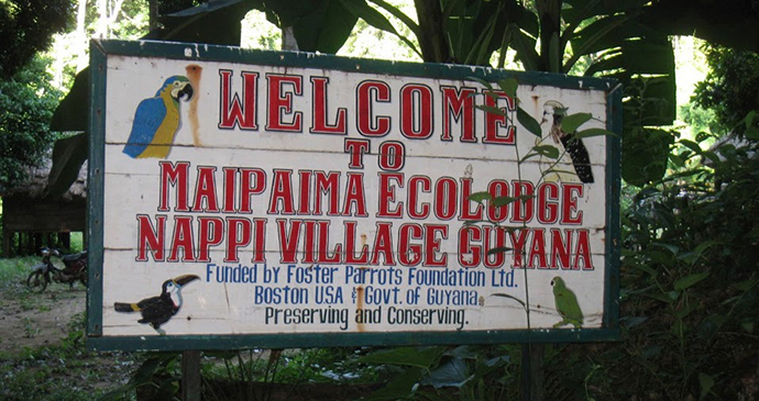 Nappi Village Guyana by Courtesy of Wilderness Explorers