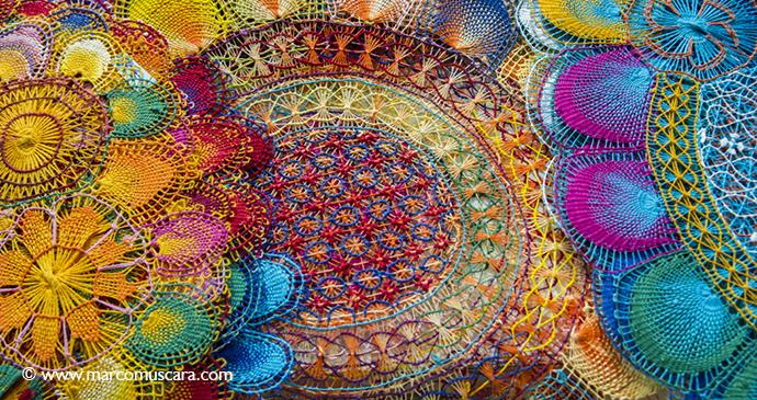 Nanduti lace Paraguay handicraft Marco Muscara