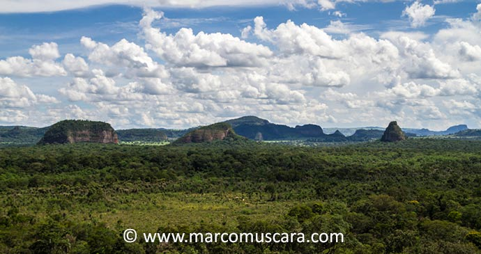 Cerro Cora National Park Paraguay South America by Marco Muscara