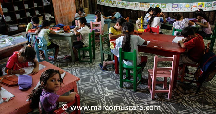 Pa'I Puku School Paraguay South America by Marco Muscara