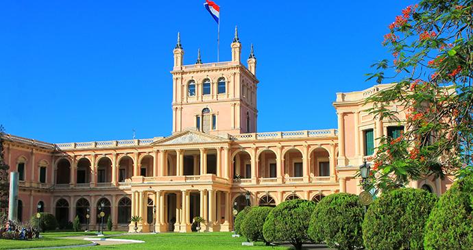 Presidential Palace,Asunción by Don Mammoser, Shutterstock
