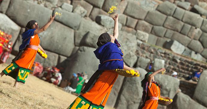Inti Raymi celebrations in Cusco Peru by PromPeru