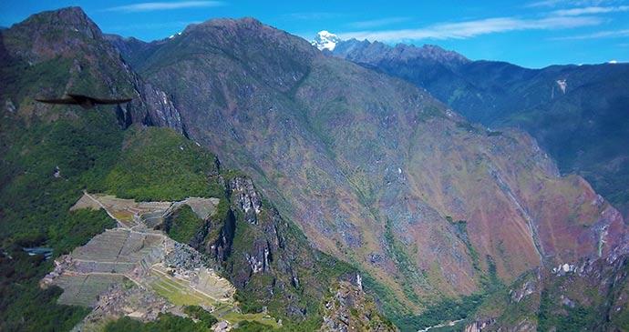 Machu Picchu Peru South America by Alice Evas