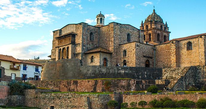 Coricancha Cusco Peru by Pytyczech Dreasmtime