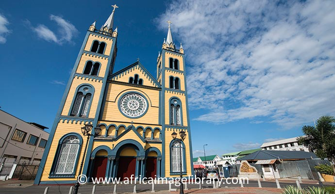 Church Paramaribo Suriname UNESCO World Heritage Site Ariadne Van Zandbergen