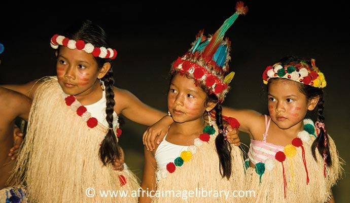 Amerindians Suriname by Ariadne Van Zandbergen