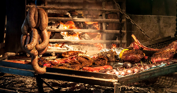 Barbecue, Uruguay by Matyas Rehak, Shutterstock