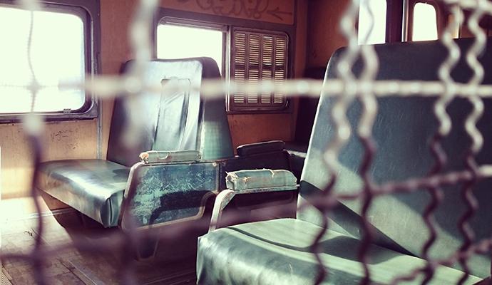 Train, Uruguay by Sean Connolly