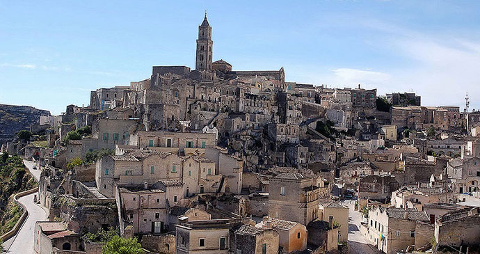 Matera town view, Italy © Giuseppe Rinaldi, Wikimedia Commons