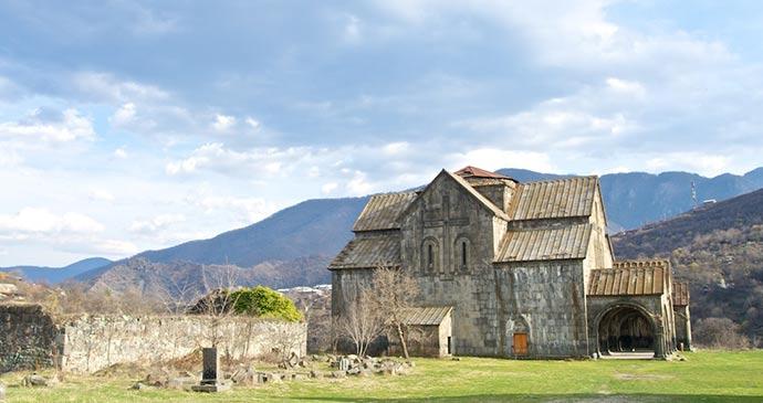 Akhtala Monastery Armenia by Adrian Chan