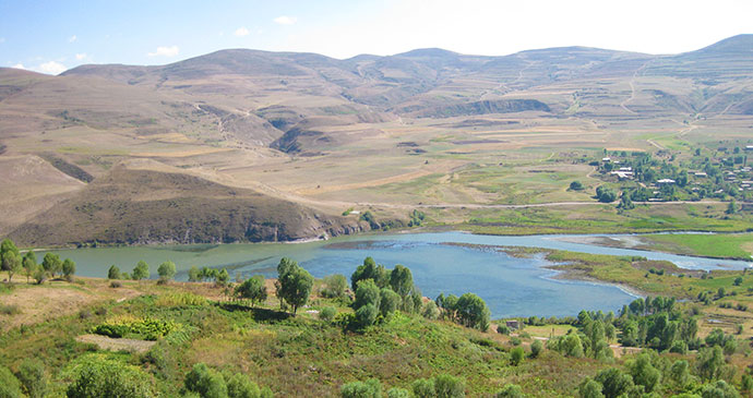 Angeghakot Reservoir Armenia by Deirdre Holding