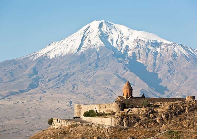 Khor Virap monastery, Armenia by Alexander Ishchenko, Shutterstock